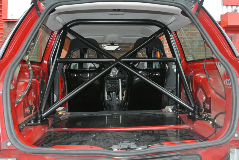 R53 And Gp Rear Roll Cages With Harness Bars